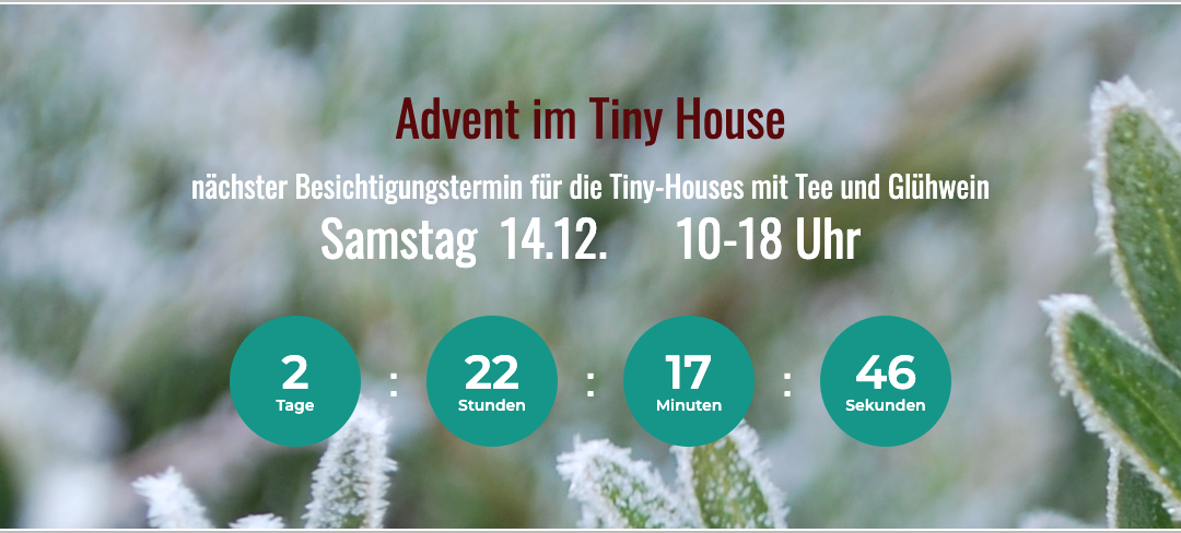 Advent im Tiny House